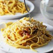 Butternut Spaghetti Carbonara