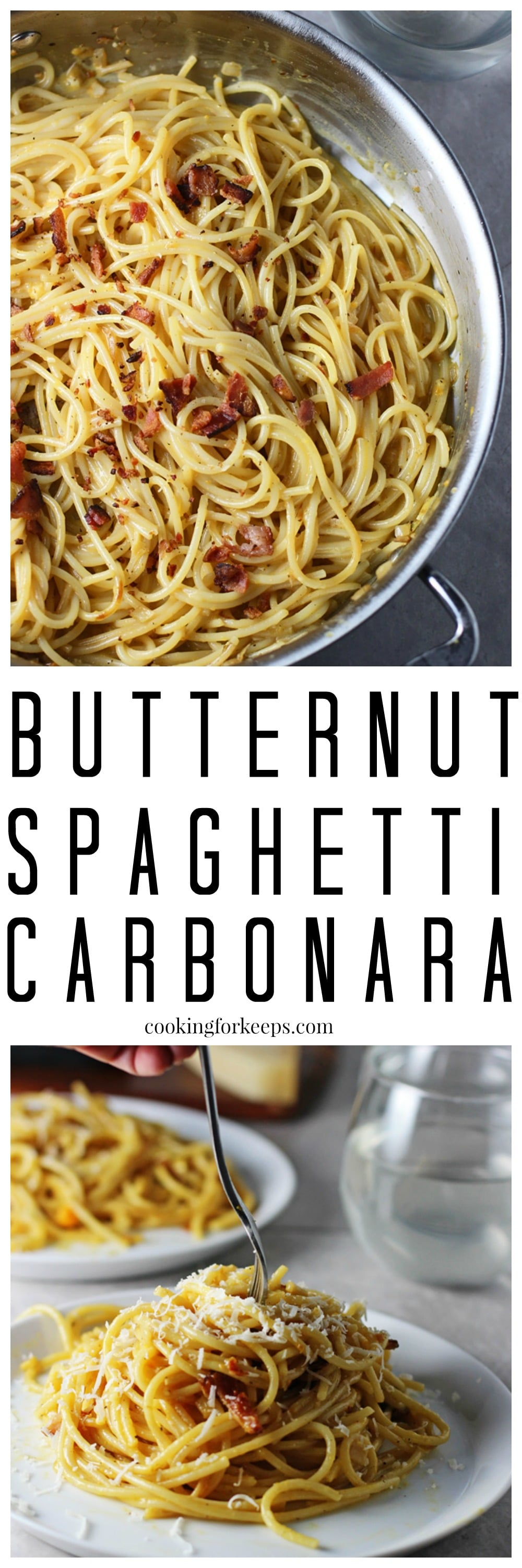 Butternut Spaghetti Carbonara Cooking For Keeps