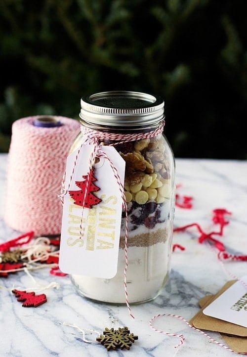 Gooey White Chocolate, Walnut and Cranberries Blondies