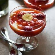 Holiday Fruit Slushies