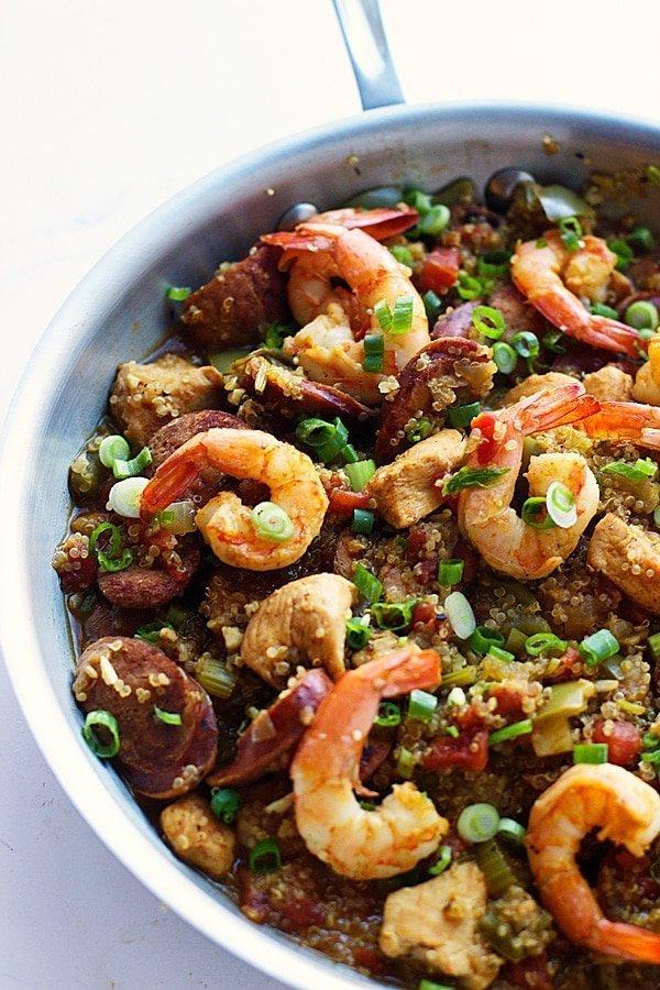 Quinoa Jambalaya 5