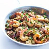 Quinoa Cajun Jambalaya