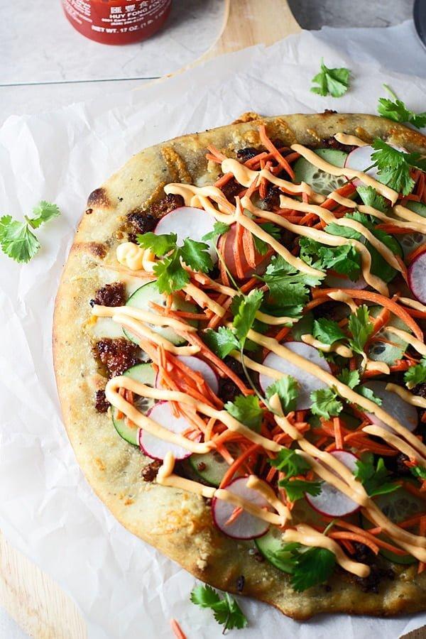 Bahn Mi Pizza 2