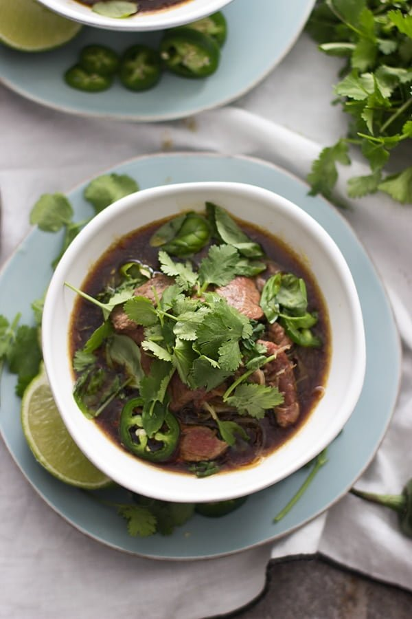 Cheater Vietnamese Pho (Pho Bo) - Cooking for Keeps