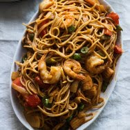 Combination Red Curry & Coconut Noodles