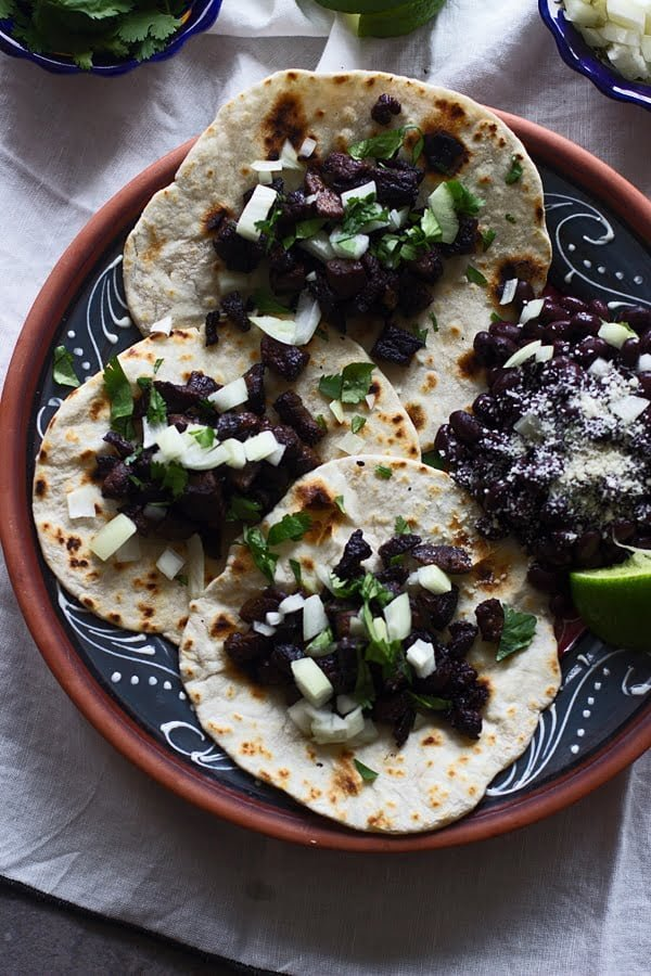 Crispy Beef Street Tacos -  So simple, SO good.