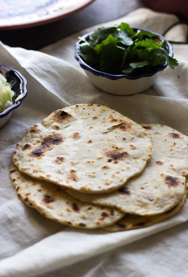 Easy Homemade Garlic Tortillas