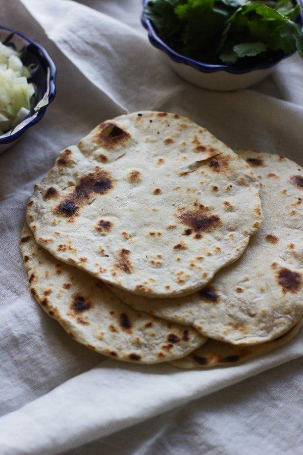 Easy Homemade Flour Tortillas 4