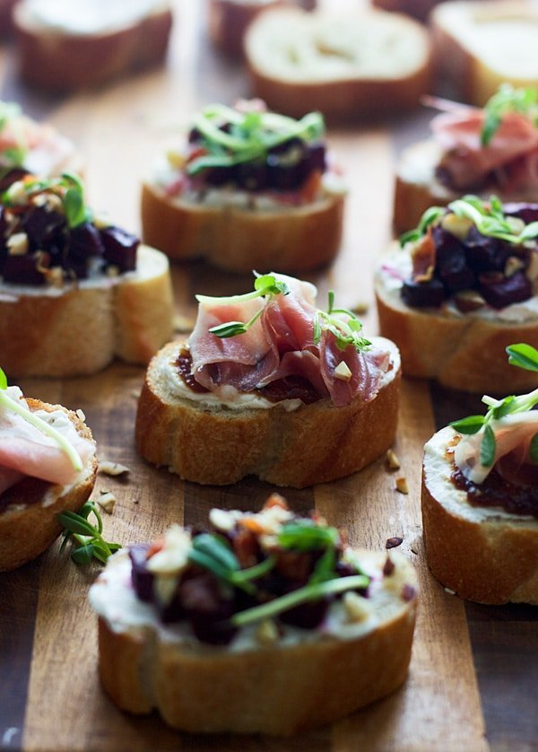 Stuffed Chanterelles With Goat Cheese And Prosciutto ...