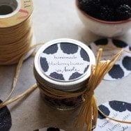 Gifting Homemade Blackberry Butter with HP Sprout