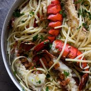 Easy Lobster Scampi with Linguini 5