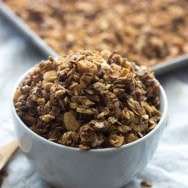 White Chocolate Macadamia Nut Granola