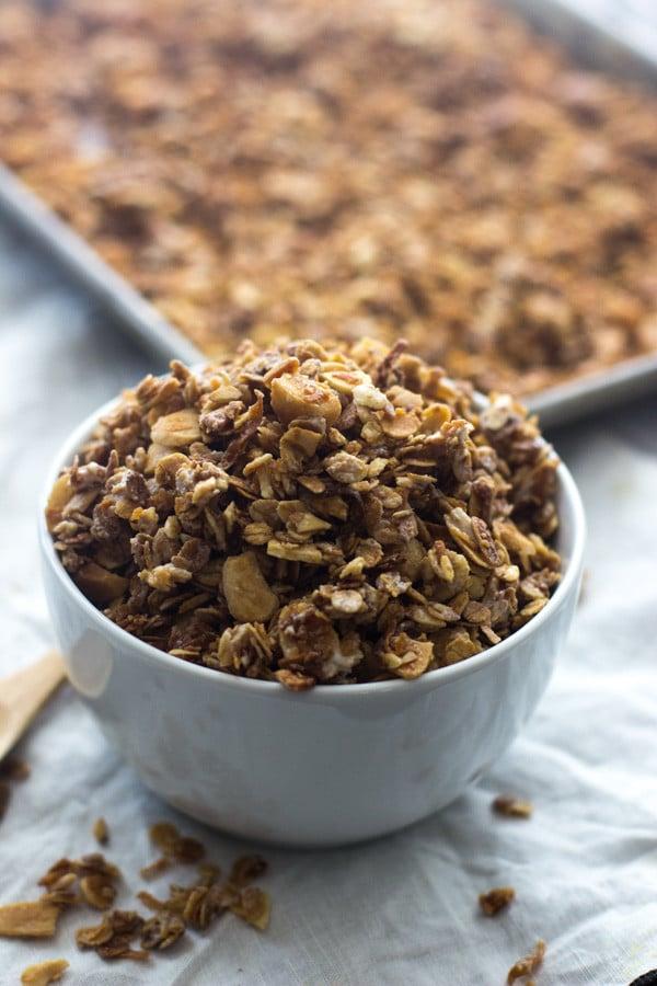 White Chocolate Macadamia Nut Granola 5