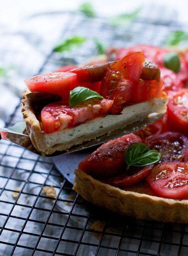 Ricotta and Heirloom Tomato Tart 2