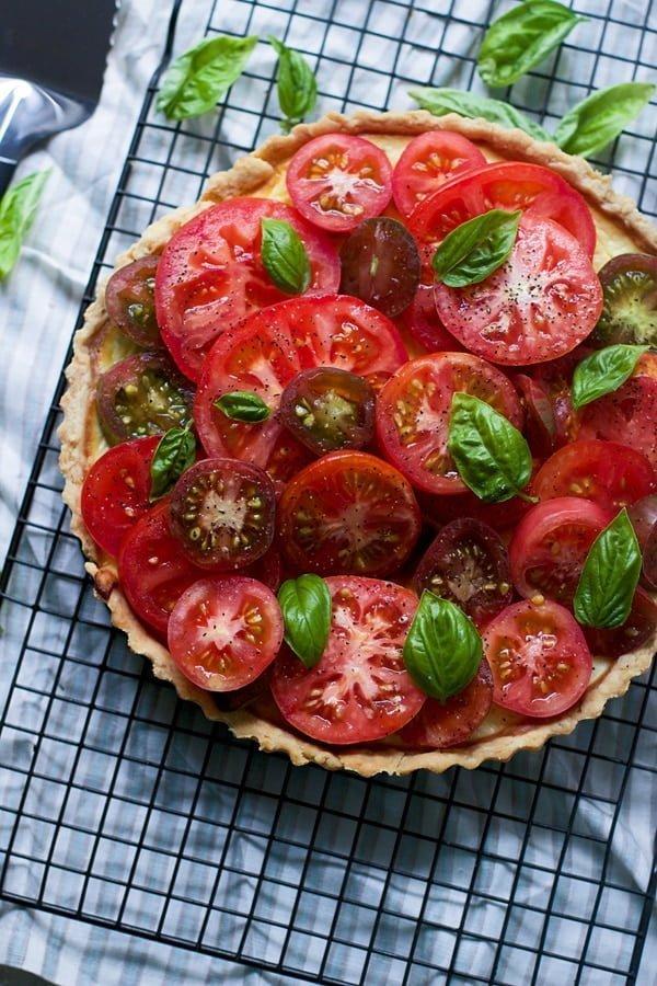 Ricotta and Heirloom Tomato Tart 4