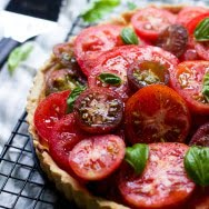 Ricotta and Heirloom Tomato Tart