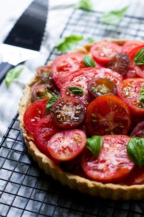 Ricotta and Heirloom Tomato Tart 5