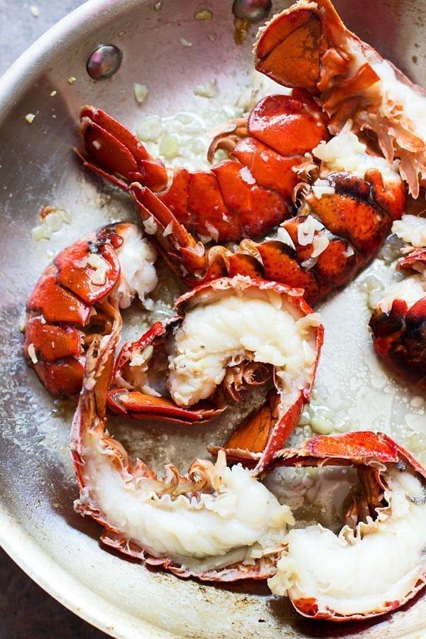 Tarragon and Lemon Lobster Rolls with Garlic Bread Hoagies 12