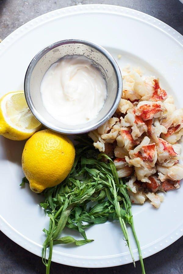 Tarragon and Lemon Lobster Rolls with Garlic Bread Hoagies 9