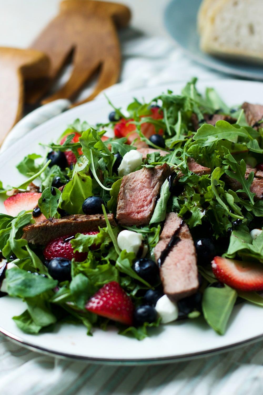 Fourth of July Steak Salad 8