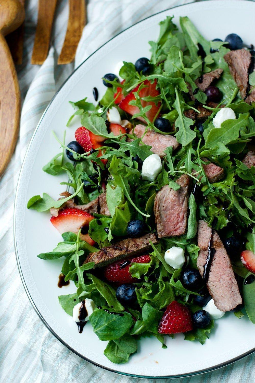 Fourth of July Steak Salad 9