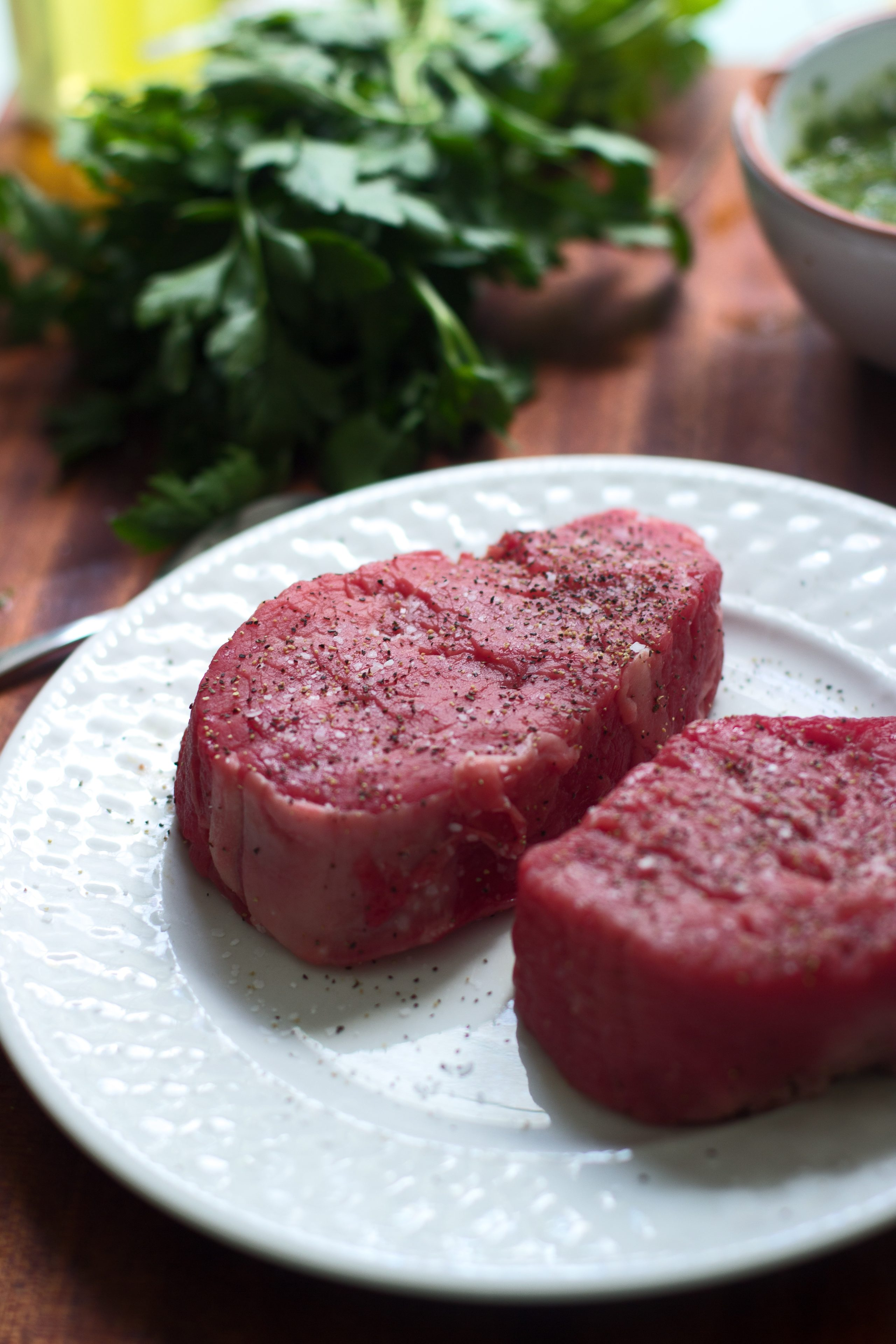 Grilled Beef Tenderloin with Spicy Chimmichuri 5