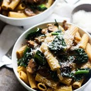Creamy Marsala Rigatoni with Mushrooms and Kale PS3