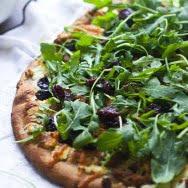 Homemade Ricotta, Tart Cherry and Italian Sausage Pizza 4