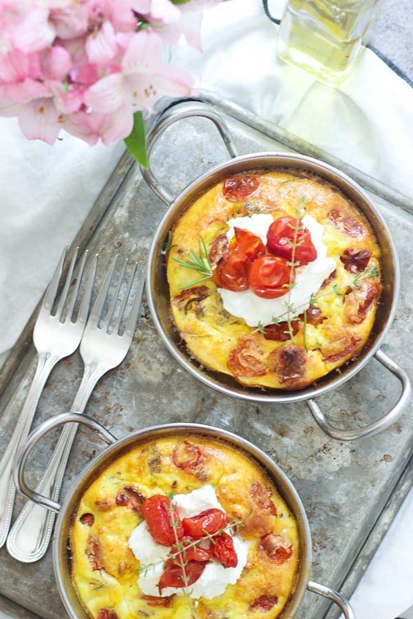 Roasted Tomato, Italian Sausage and Ricotta Tart 2