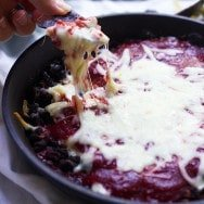 Chipotle Raspberry and Black Bean Dip 3