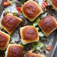 Cheeseburger Pull Apart Sliders
