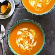 Curried Carrot Coconut Soup 2
