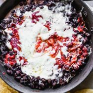 Chipotle Raspberry Black Bean Dip