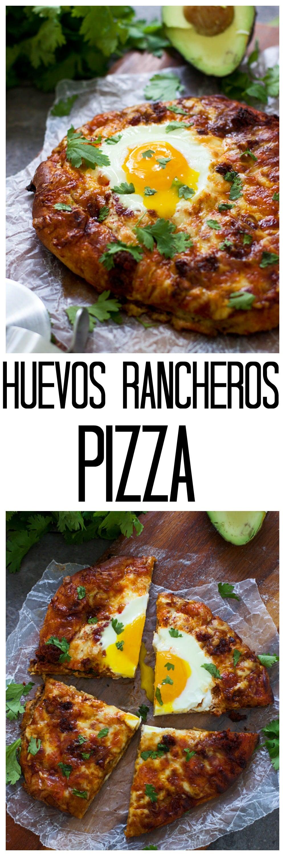 Hevos Rancheros Pizza