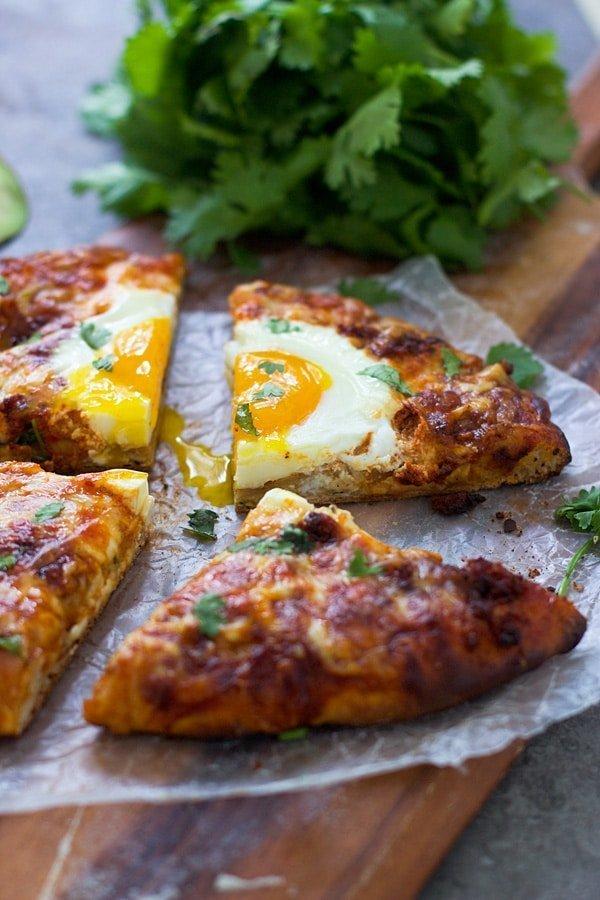 Huevos Rancheros Pizza 5