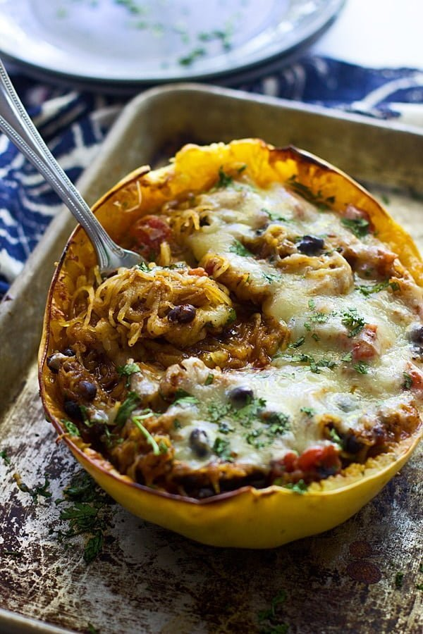Mexican Spaghetti Squash