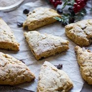 Brown Butter, Dried Cherry and Walnut Scones 4