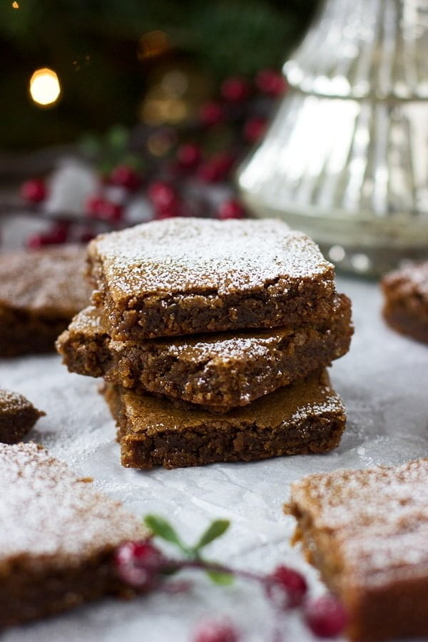 Gingerbread Blondies 2