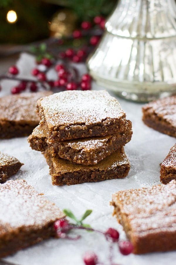 Gingerbread Blondies 3