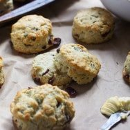 Gruyere, Cranberry and Sage Buttermilk Biscuits 3