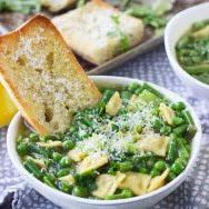 30 Minute Spring Veggie and Lemon Soup