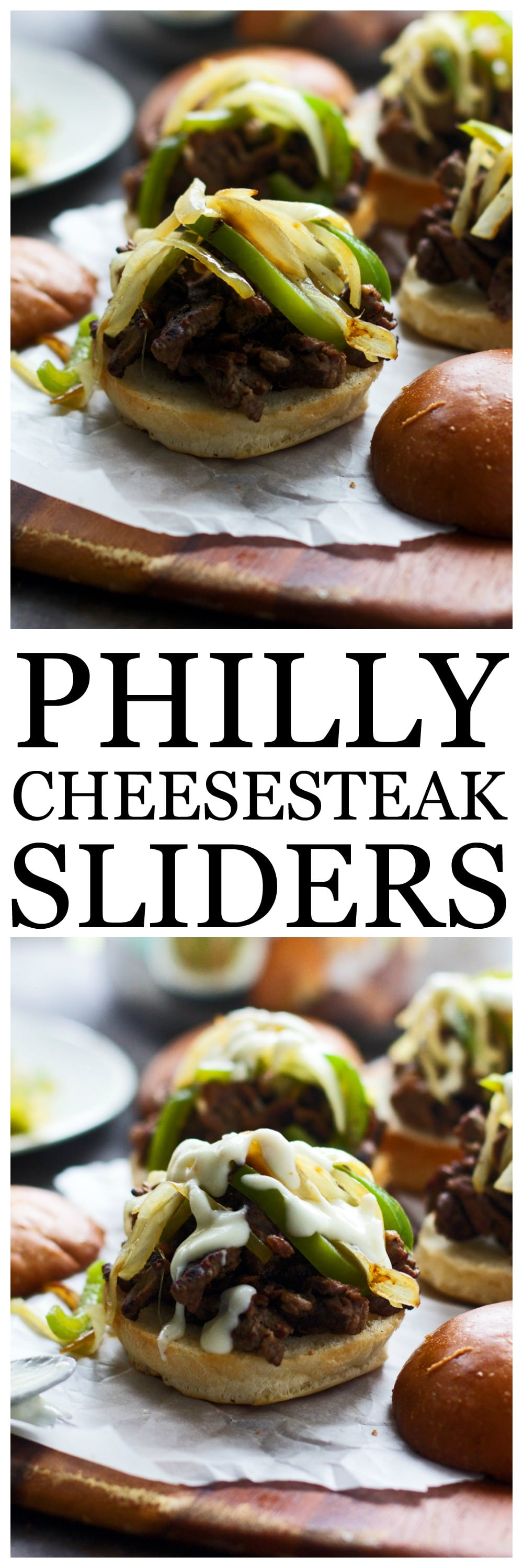 THESE PHILLY CHEESESTEAK SLIDERS ARE PERFECT FOR GAME DAY ENTERTAINING!