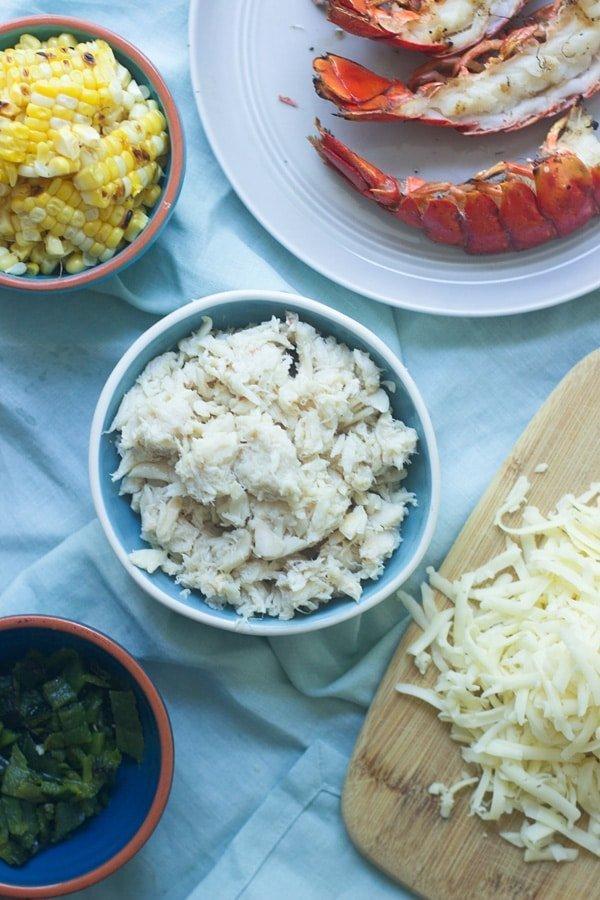 Corn, Crab, and Lobster Quesadilla 5
