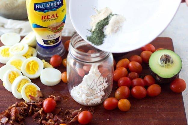 Creamy Cobb Pasta Salad 21