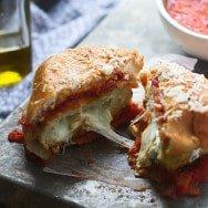 Mozzarella Stick Chicken Burgers