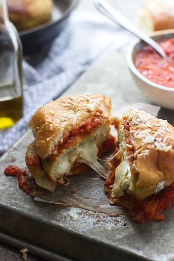 Mozzarella Stick Chicken Burgers 4