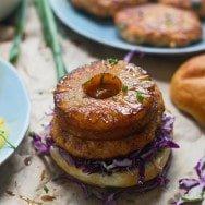 Teriyaki Salmon Burgers 5