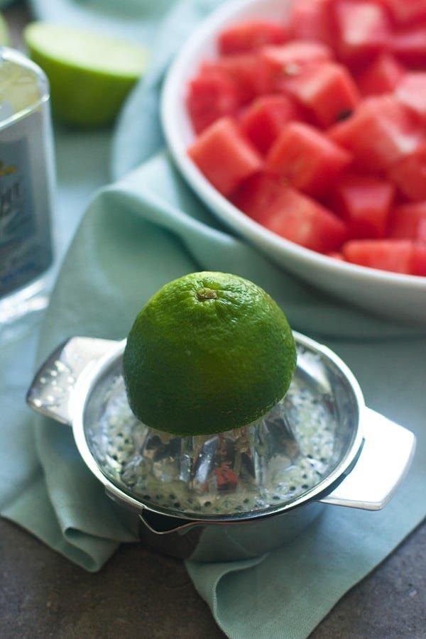 Watermelon Margarita Granita 5