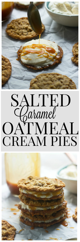 Homemade Salted Caramel Oatmeal Cream Pies 9
