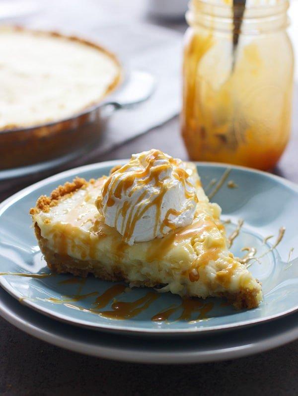 Caramelized Pineapple Coconut Cream Pie